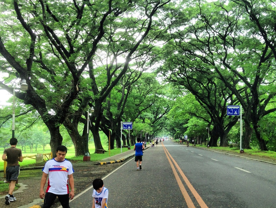 Run the Academic Oval Quezon City  Philippines