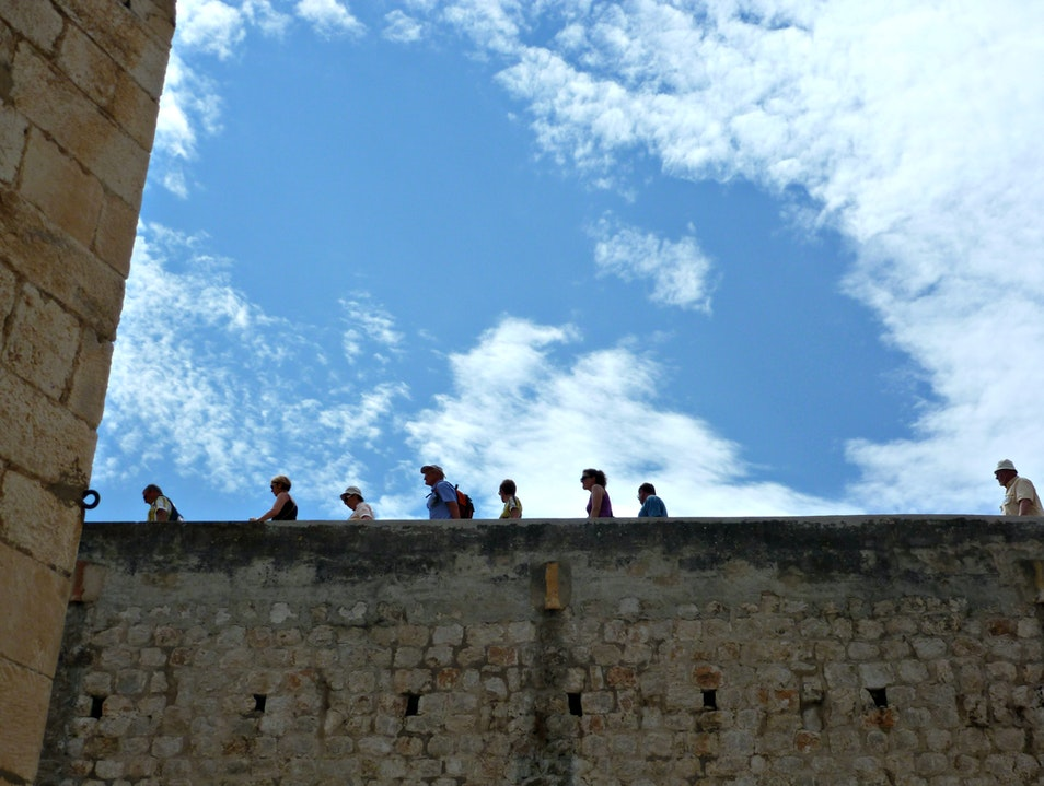 Walk the fascinating Dubrovnik City Walls Dubrovnik  Croatia