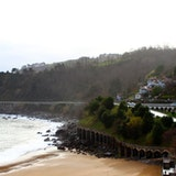 Road from Getaria to Zarautz