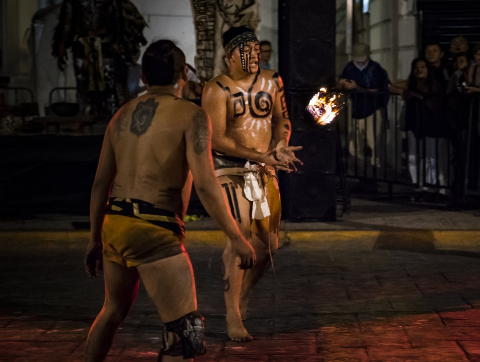 Mayan Ball Game: Pok–Ta–Pok Merida  Mexico