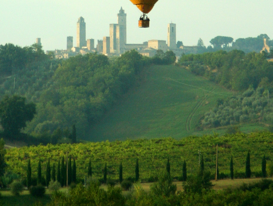 Bird's-Eye Views of Chianti San Casciano In Val Di Pesa  Italy