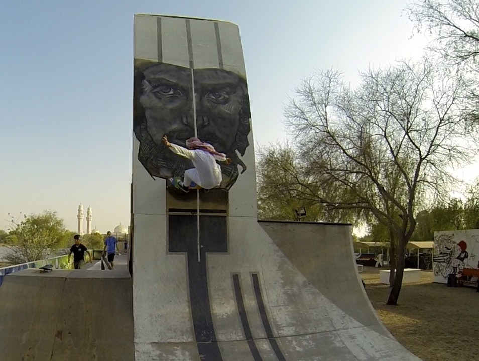 Skateboarding & Art in the Middle East
