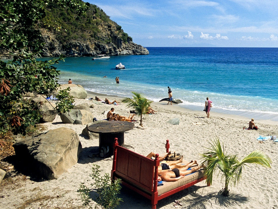 Shell Beach and St. Jean Beach Gustavia  Saint Barthélemy