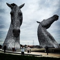 The Kelpies Grangemouth  United Kingdom