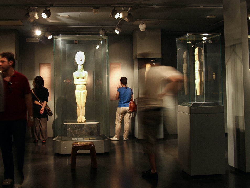 Goulandris Museum of Cycladic Art Athens  Greece