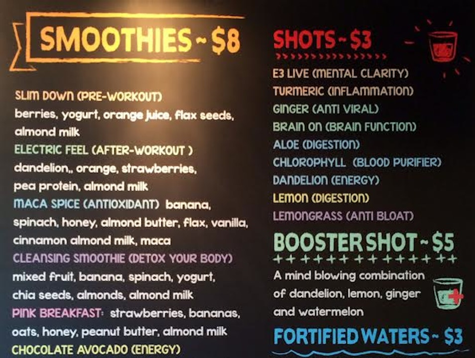 Slurp Down Cold Pressed Juices and Smoothies at Roots Atlanta Georgia United States