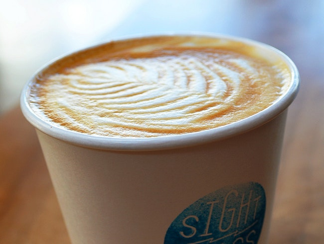 Drinking Fair Trade Coffee at Sightglass
