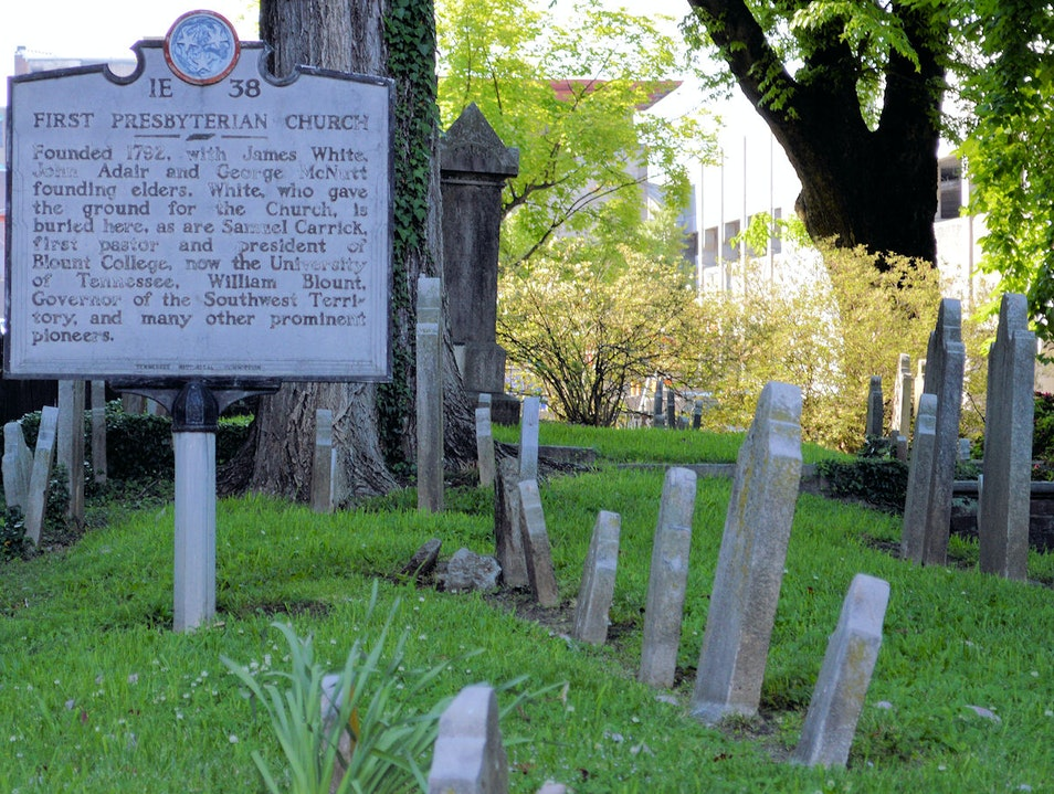Knoxville's First Cemetery Knoxville Tennessee United States
