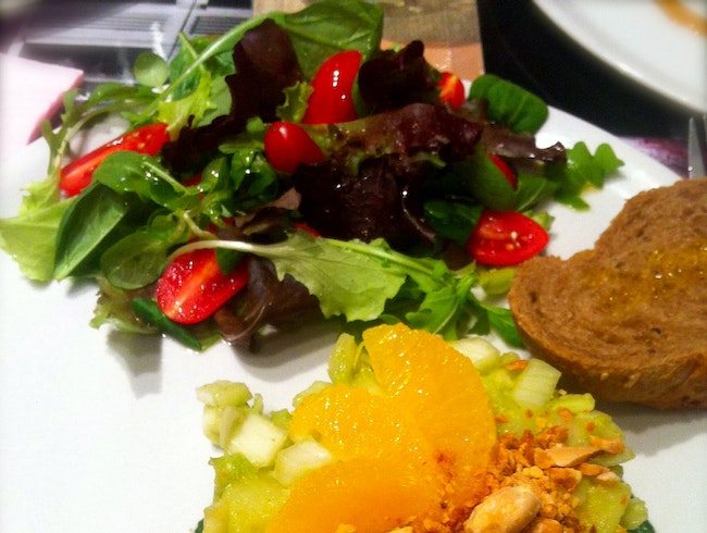 Creative vegetarian cuisine in Florence