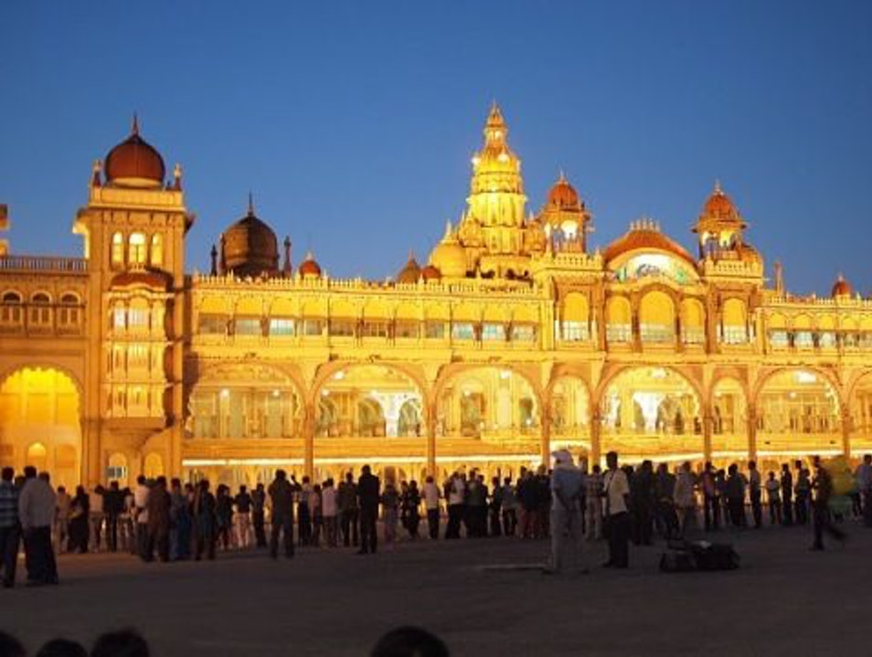 A Palatial Sight to Be Seen Mysore  India