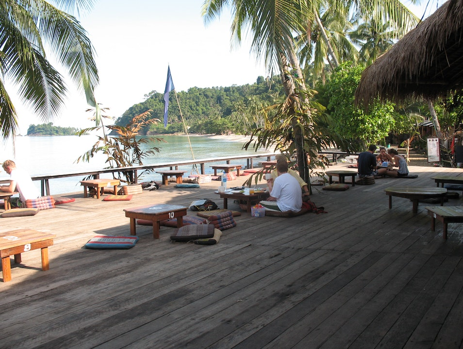 Banana Pancakes with a view Ko Chang  Thailand