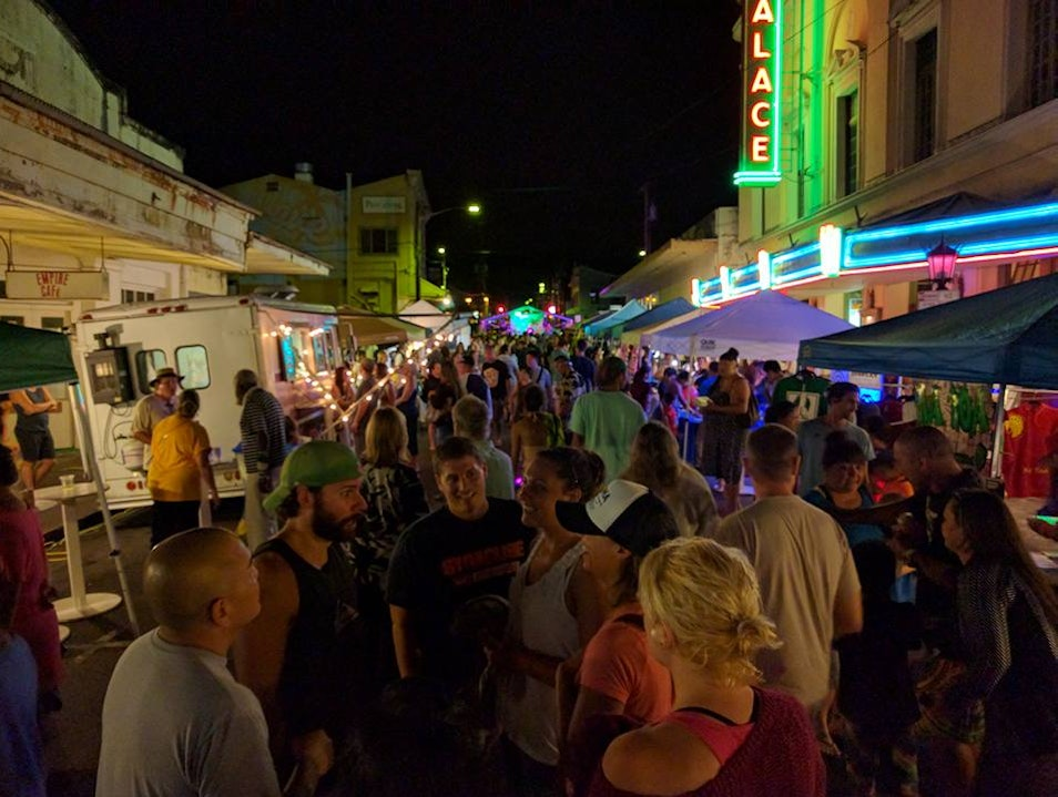 Hilo's First Friday Night Market