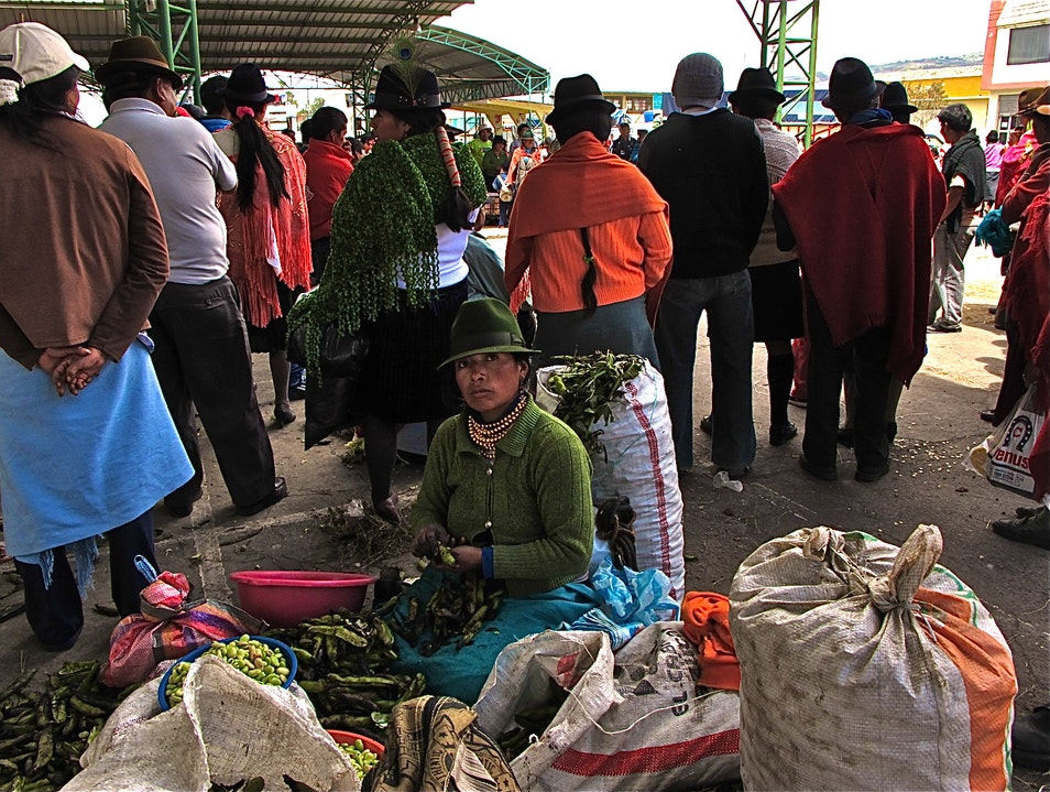 Explore One of Ecuador's Most Colorful Markets Saquisilí  Ecuador