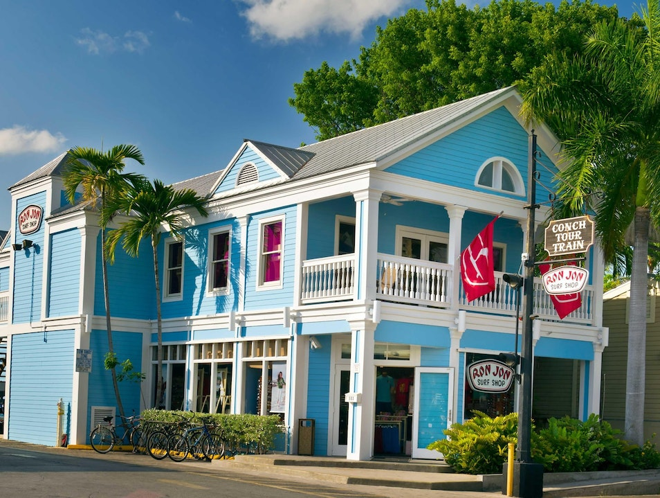 Surf into Style at Ron Jon's Key West Shop