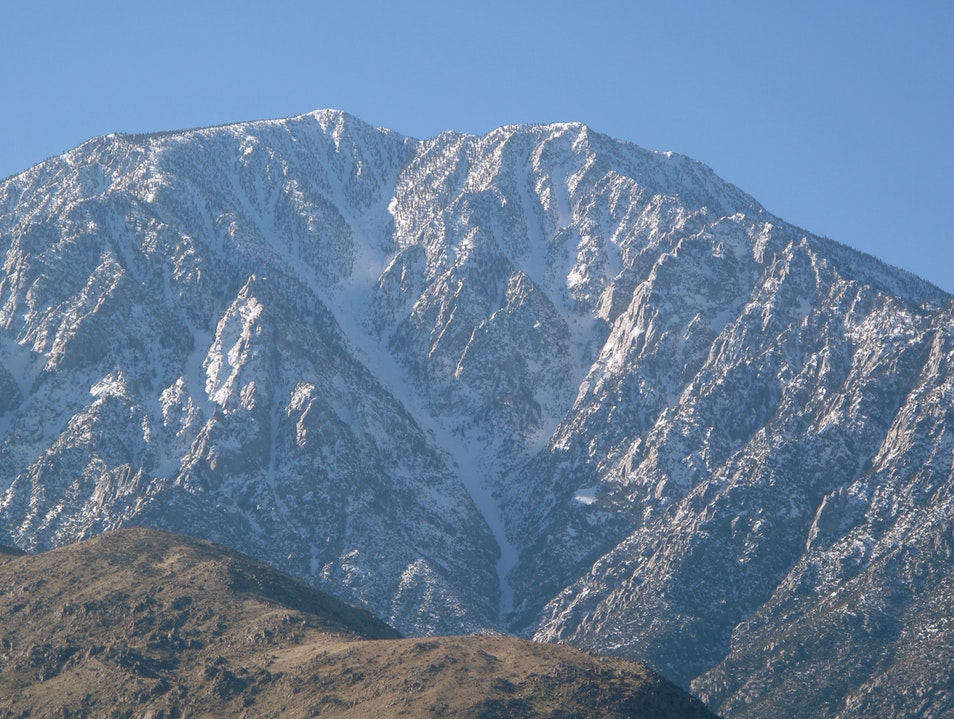 Snow In Palm Springs?  There's Not An Easy Way. San Bernardino National Forest California United States