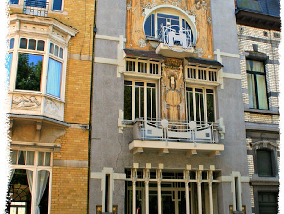 A Slice of Belgian Art Nouveau Brussels  Belgium