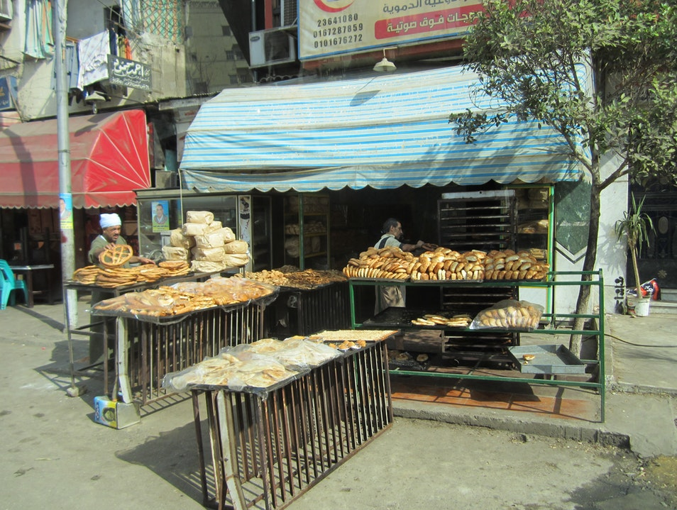 Typical Cairo Bakery Cairo  Egypt