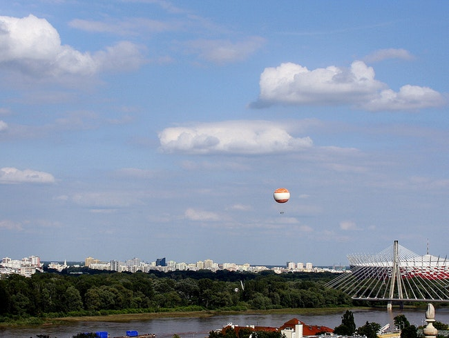Fly High over Warsaw