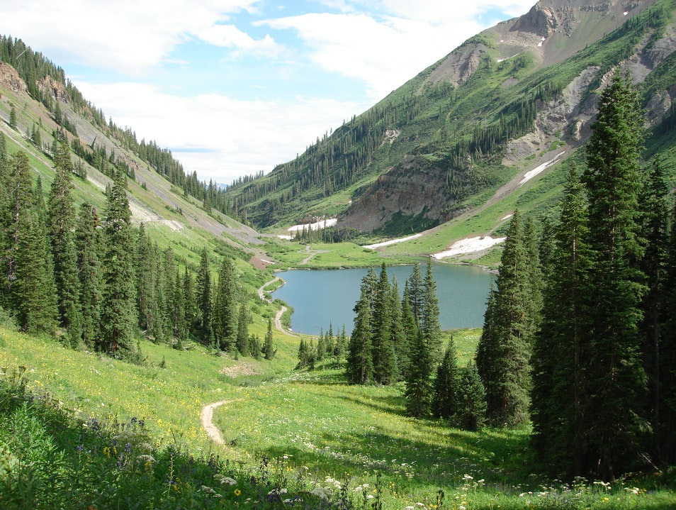 Aspen to Crested Butte Hike Crested Butte Colorado United States