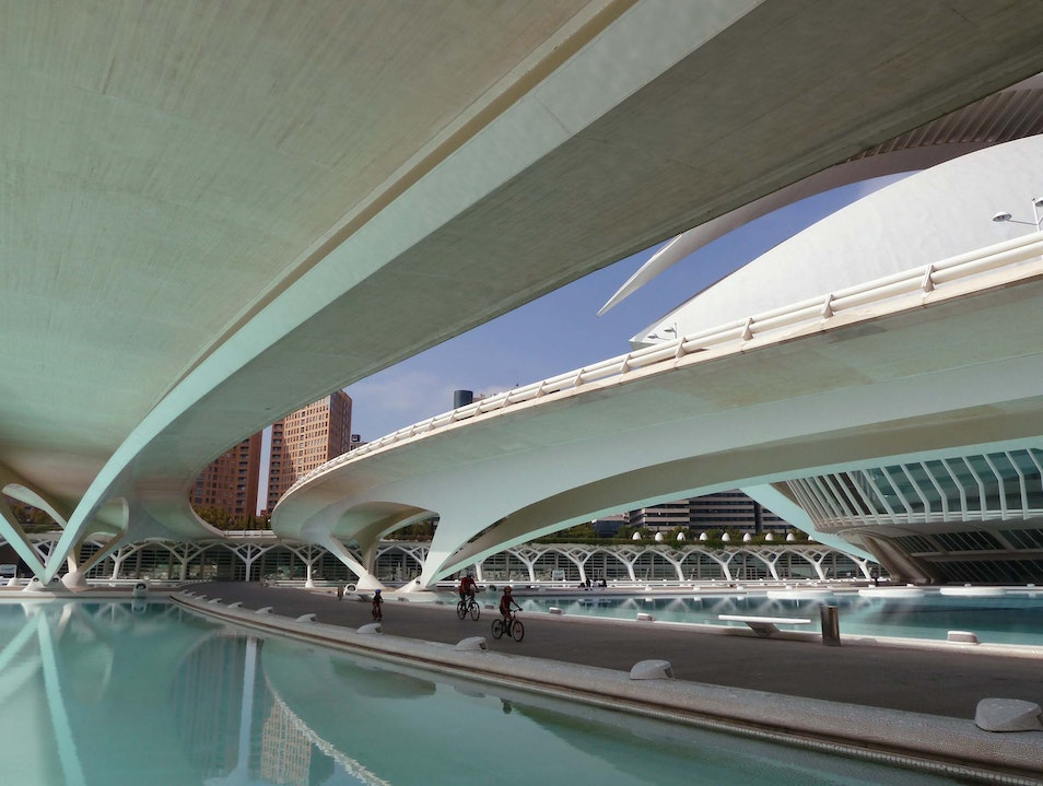 Visit the City of Arts and Sciences Valencia  Spain