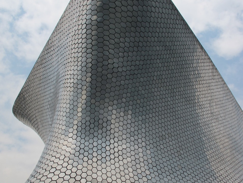 The Soumaya Museum is impressive inside and out.