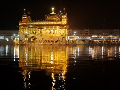 Golden Temple in Amritsar Amritsar  India