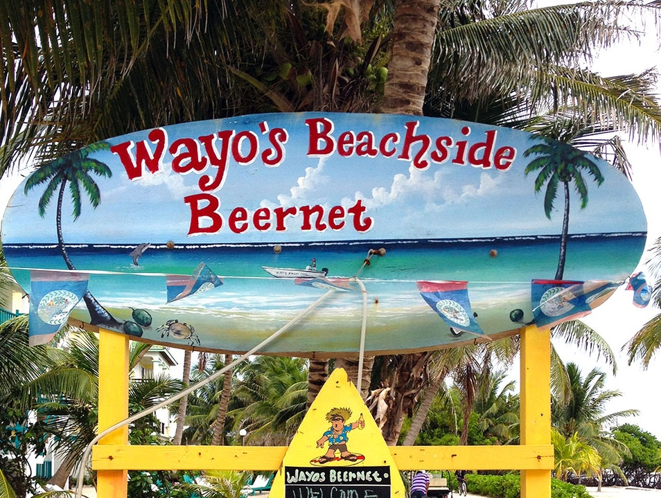 Chill with the Locals at Wayo's Bar  San Pedro  Belize