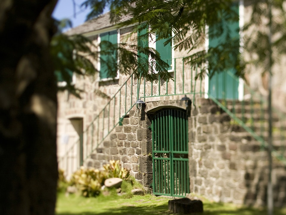 Alexander Hamilton's Birthplace Charlestown  Saint Kitts and Nevis