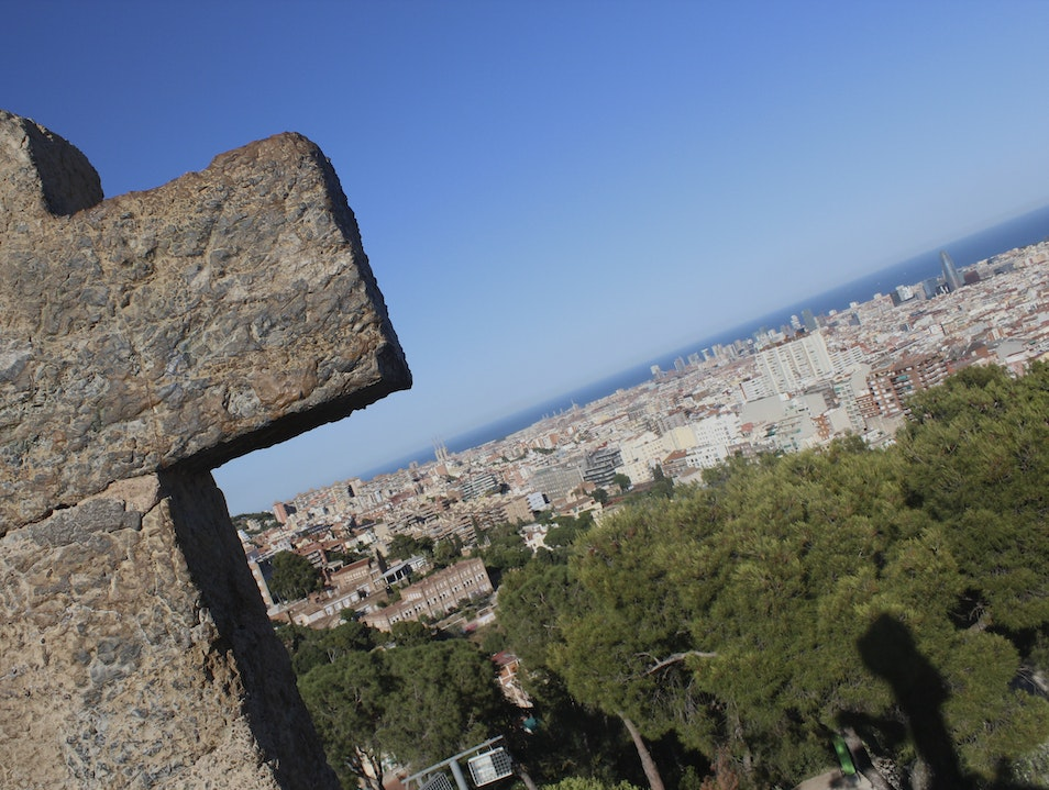 Breathtaking view of Barcelona Barcelona  Spain