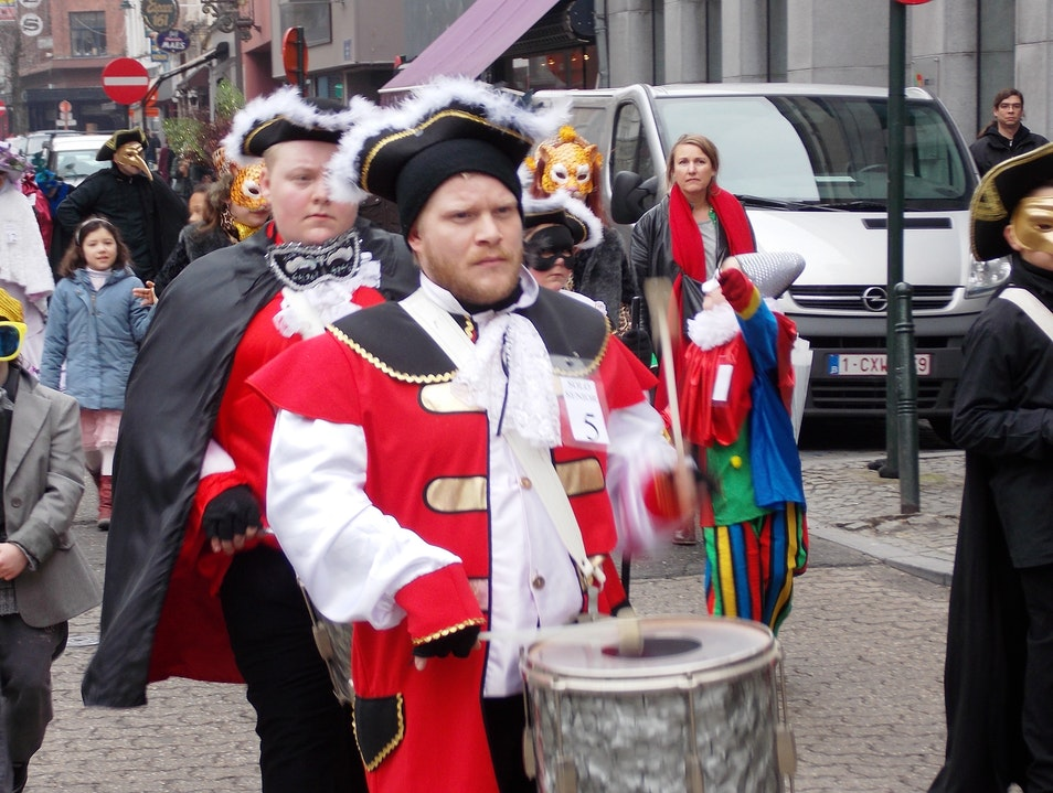 A little late for Carnival Hoogstraat  Belgium
