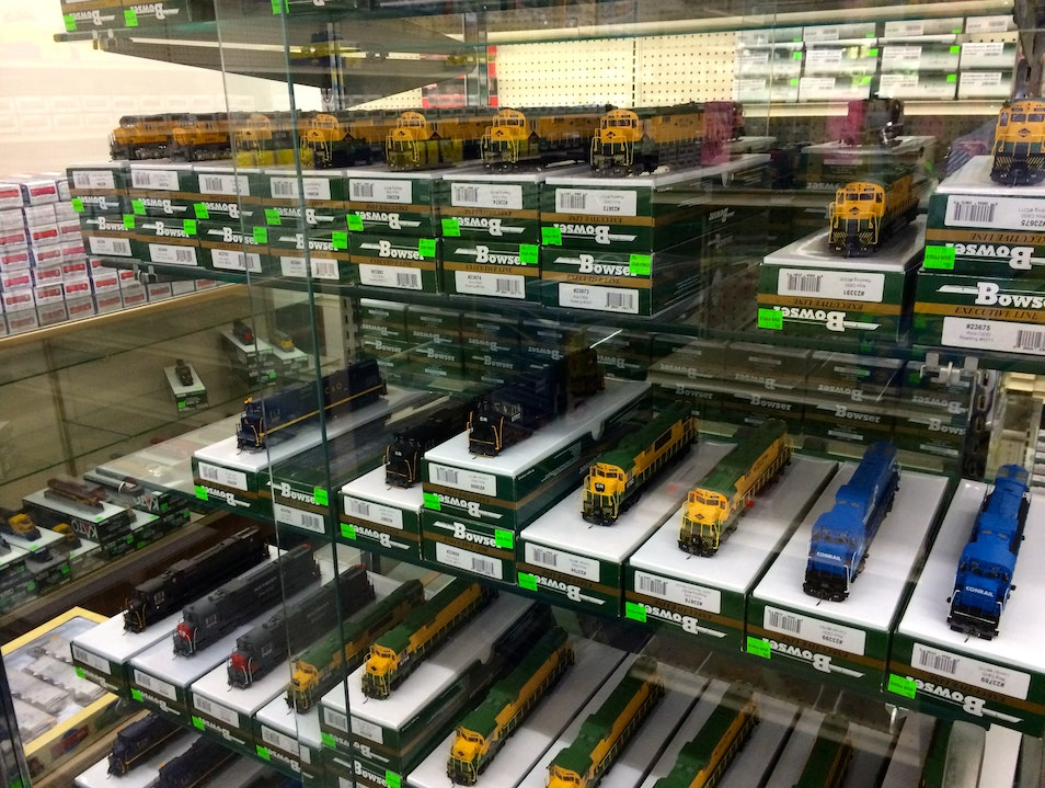 A Model Train Hobbyist's Delight Lombard Illinois United States