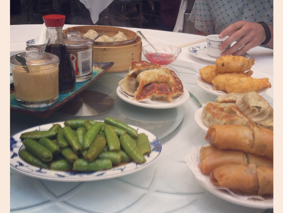 The mecca of all dim sum: SF Yank Sing San Francisco California United States