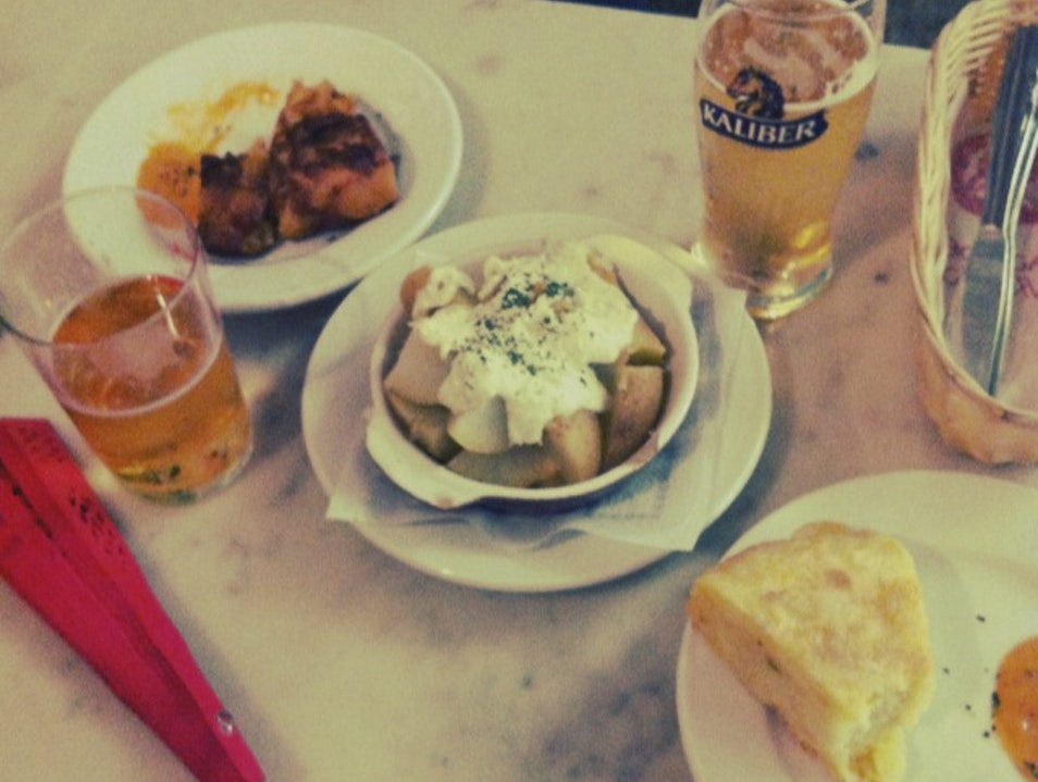 Eat in the Triana district