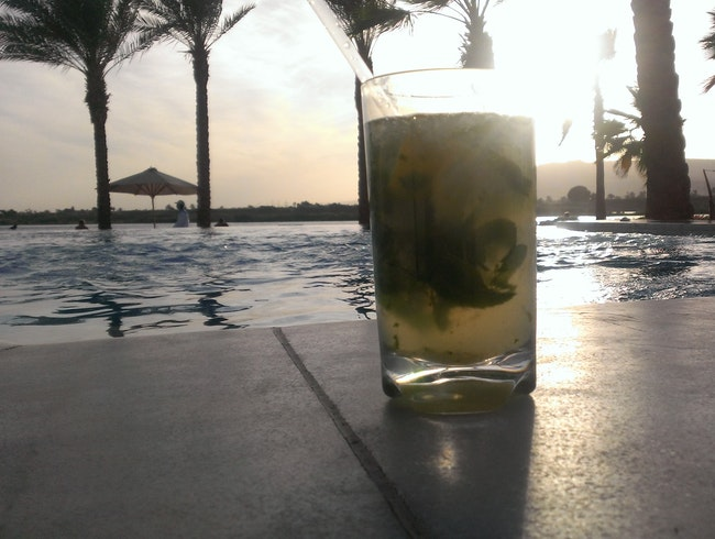 Best Mojito Ever: Hilton Luxor