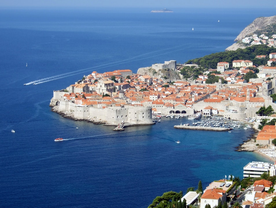 Port of Dubrovnik, Croatia