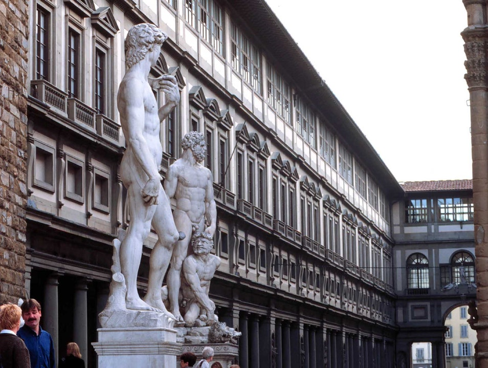 A dip into one of the world's greatest art galleries Florence  Italy