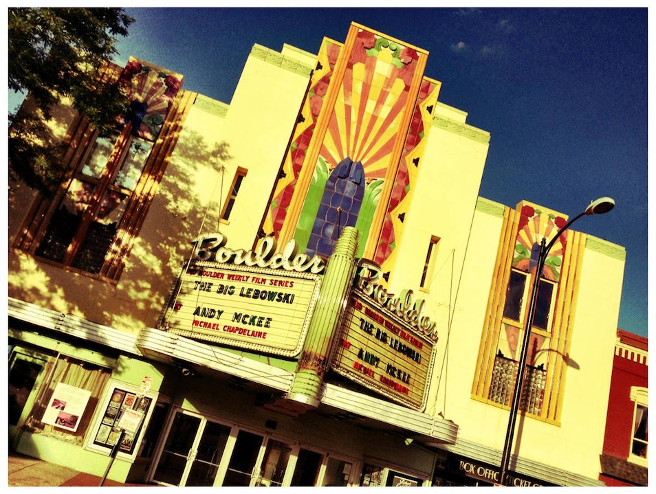 See a Show at the Boulder Theater  Boulder Colorado United States