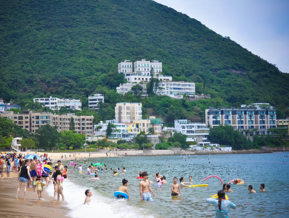 The Water Is Warm Repulse Bay  Hong Kong