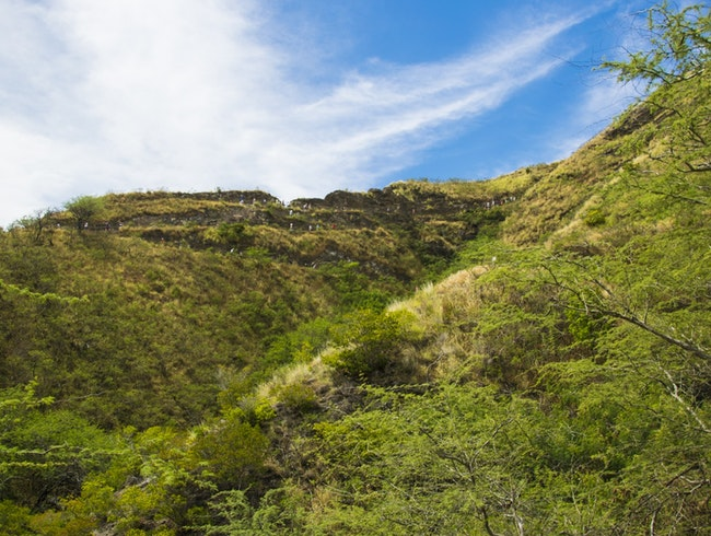 Hiking up Diamond Head Crater: Challenging But Not Intimidating
