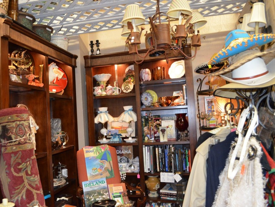Perusing the Antique Shops in Carlsbad Village