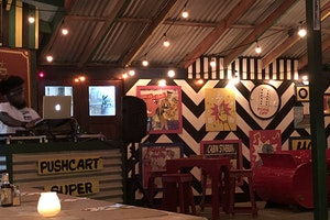 Pushcart Restaurant and bar