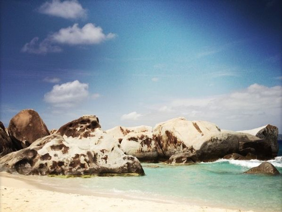 Giant Caribbean Climbing Boulders? Yes, please! Spanish Town  British Virgin Islands