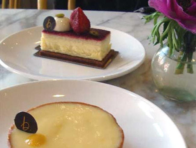 Modern French pastries with an American twist
