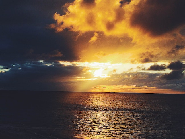 Settle in for Sunset at Galley Bay Resort