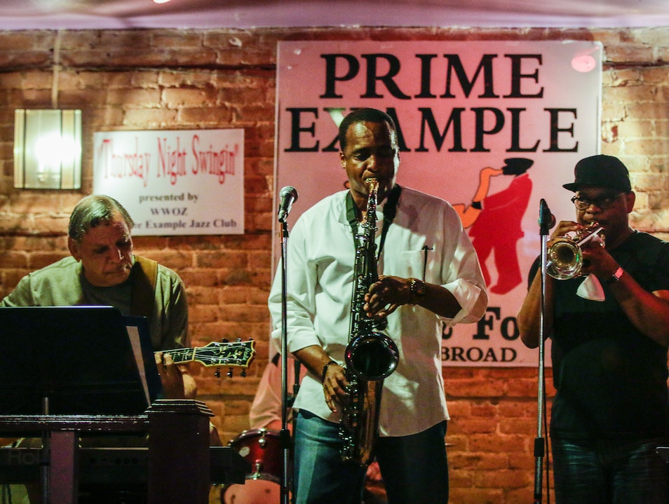 The Prime Example Jazz Club New Orleans Louisiana United States