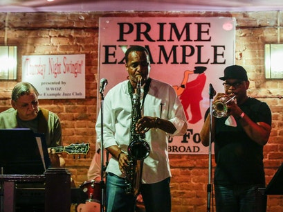 Prime Example Jazz Club New Orleans Louisiana United States