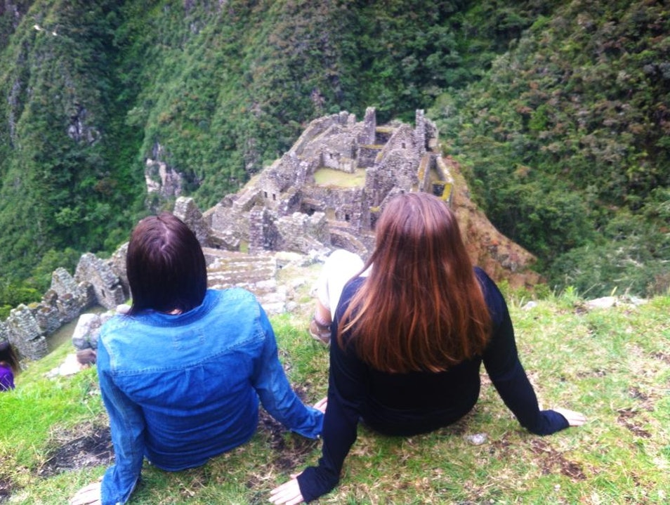 Off the trail Santuario Historico Machu Picchu  Peru