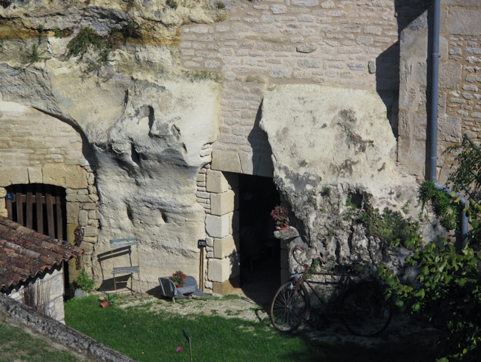 Rochemenier: A French cave towns Louresse-Rochemenier  France