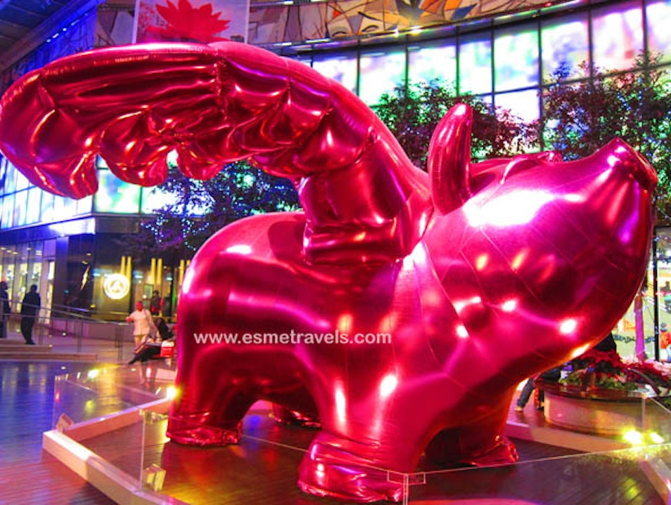 World's First Art Shopping Mall Hong Kong  Hong Kong