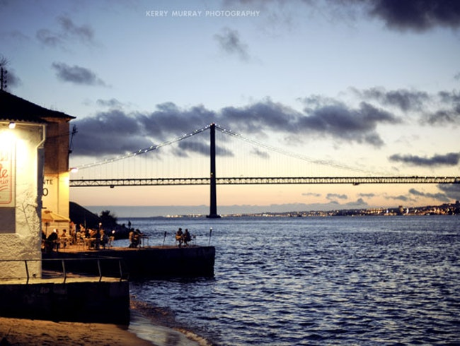 River-front restaurant with amazing views over Lisbon.
